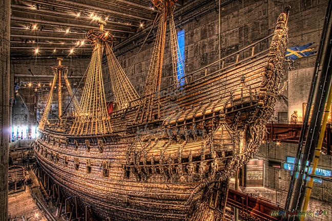 Το πλοίο-κάμαρι του σουηδικού στόλου που έπλευσε για 120 μέτρα