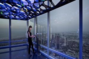 Μαγευτική θέα από το πιο ψηλό κτήριο του κόσμου!