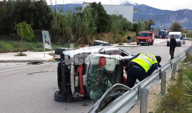 Εκτροπή θανάτου για 19χρονο οδηγό στην Πάτρα
