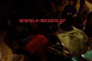 Διπλή τραγωδία με τροχαία δυστυχήματα στη Κρήτη