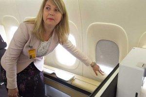 Γιατί τα κλείστρα των παραθύρων κατά τη διάρκεια πτήσεις πρέπει να είναι ανοιχτά