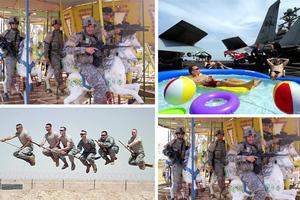 Τι κάνουν οι στρατιώτες στα ρεπό τους