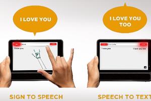 «Μεταφράζοντας» τη νοηματική σε κείμενο