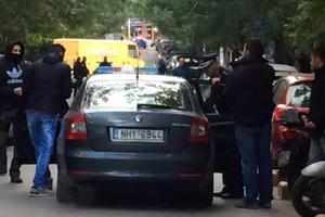 Αστυνομικοί εισέβαλαν στο κονάκι της Μονής Εσφιγμένου