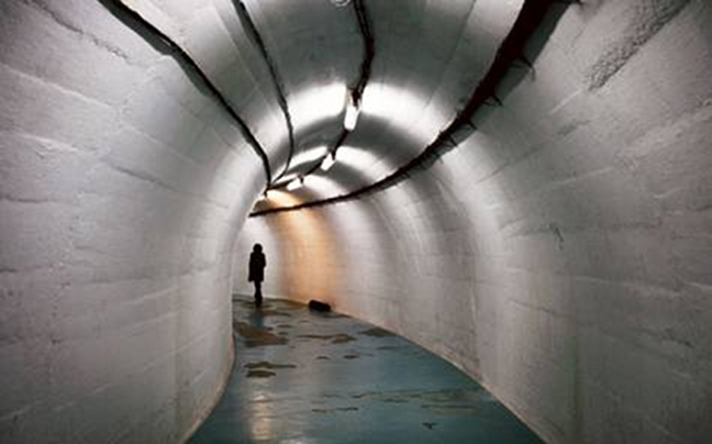 τσιμεντένια υπόγεια αντιπυρηνική πολιτεία του Τίτο