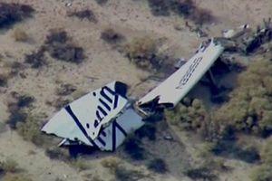 Ένας νεκρός και ένας τραυματίας από τη συντριβή του SpaceShip2