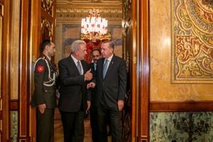 Τι συζήτησαν Αβραμόπουλος - Ερντογάν στην Κωνσταντινούπολη