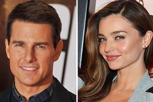 Φήμες θέλουν την Miranda Kerr ζευγάρι με τον Tom Cruise
