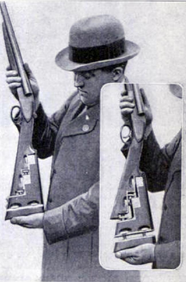 Επεκτάσιμο κοντάκι όπλου