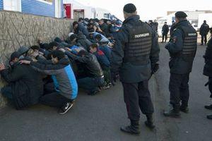Τεράστια επιχείρηση εναντίον της παράνομης μετανάστευσης στη Μόσχα