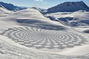 Εκπληκτικά έργα τέχνης πάνω στο χιόνι