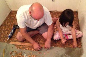 Πάτωμα από νομίσματα