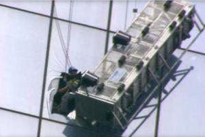 Δραματική διάσωση υαλοκαθαριστών στο «One World Trade Center»