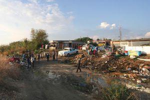 Αστυνομική επιχείρηση σε καταυλισμό Ρομά στο Ζευγολατιό