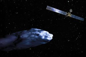 Στο δρόμο προς τον κομήτη το ρομπότ