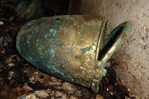 Στο φως ασύλητος τάφος στη Βεργίνα από την εποχή του Αλεξάνδρου