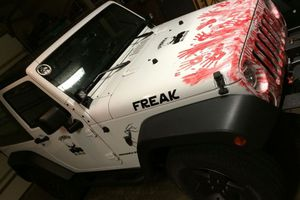 Το αμάξι ενός κυνηγού ζόμπι!