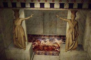 Νέα εντυπωσιακή τρισδιάστατη παρουσίαση του τάφου της Αμφίπολης