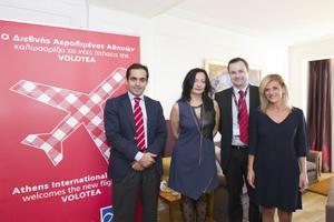Πέντε νέες πτήσεις από Αθήνα ξεκινά η Volotea