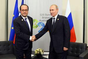 Προειδοποιήσεις Πούτιν στον Ολάντ