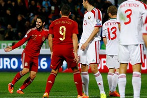 Η Ισπανία νίκησε τη Λευκορωσία αλλά η κορυφή είναι κατειλημμένη
