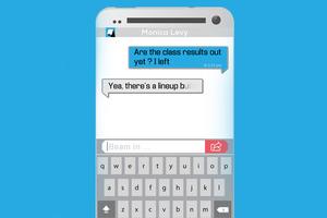 Εφαρμογή γραπτών μηνυμάτων υποχρεώνει σε τρομακτική ειλικρίνεια