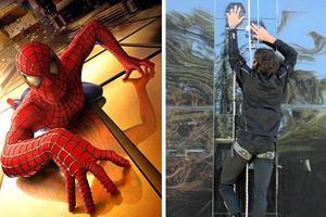 Ειδικά γάντια μετατρέπουν τον καθένα σε Spider-Man