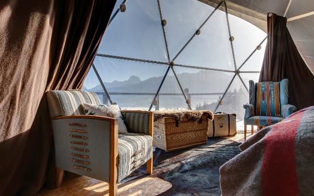 Glamping στα βουνά της Ελβετίας: Η πολυτελής και οικολογική επιλογή διαμονής!