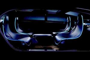 Το εσωτερικό του αυτόνομου μοντέλου της Mercedes