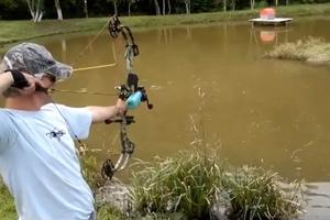 Ψαρεύοντας με τόξο