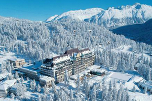 Ανοίγουν παγοδρόμια σε πολυτελή ξενοδοχεία