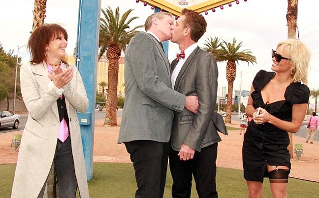 Γκέι γάμος εκατομμυριούχος