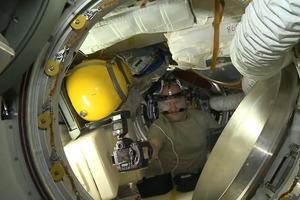 Βγάζοντας selfie στο διάστημα