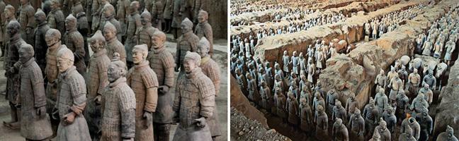 Ο Πήλινος Στρατός του Τσι Σιν Χουάν