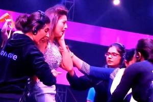 Χαστούκισαν παρουσιάστρια γιατί φορούσε μίνι