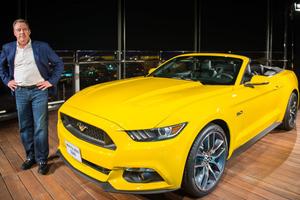 Αποκαλυπτήρια του Ford Mustang σε ύψος 400 μέτρων!