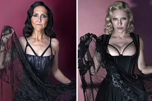 Αρθρογράφος της Daily Mail φωτογραφίζεται αλά Madonna