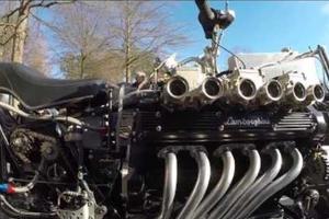 Μοτέρ Lamborghini σε δύο τροχούς