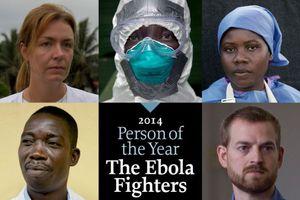 «Πρόσωπο της Χρονιάς» οι μαχητές κατά του Έμπολα