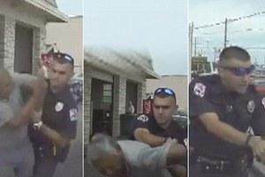 Αστυνομικός επιτίθεται και χτυπά ηλικιωμένο οδηγό