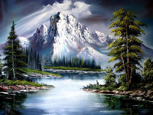 Μπομπ Ρος: Ο αγαπημένος ζωγράφος που δώριζε όλα τα έργα του σε φιλανθρωπικές οργανώσεις 9