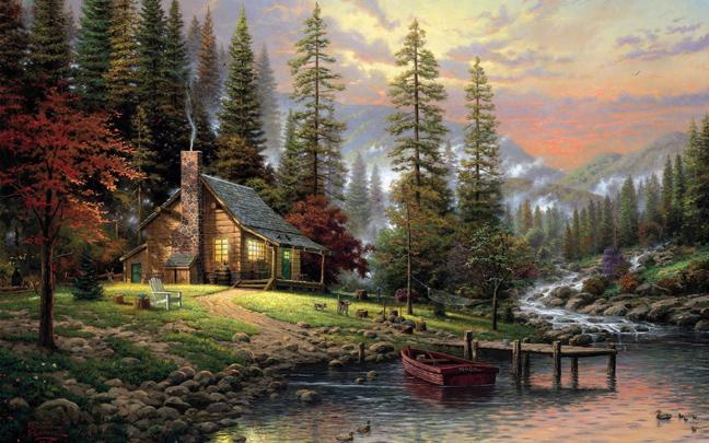 Μπομπ Ρος: Ο αγαπημένος ζωγράφος που δώριζε όλα τα έργα του σε φιλανθρωπικές οργανώσεις 6