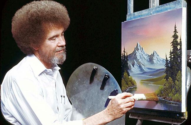 Μπομπ Ρος: Ο αγαπημένος ζωγράφος που δώριζε όλα τα έργα του σε φιλανθρωπικές οργανώσεις 12