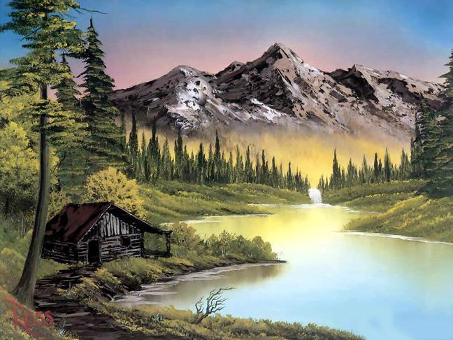 Μπομπ Ρος: Ο αγαπημένος ζωγράφος που δώριζε όλα τα έργα του σε φιλανθρωπικές οργανώσεις 5