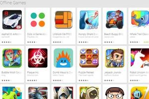 Νέα κατηγορία στο Play Store με «Offline Games»