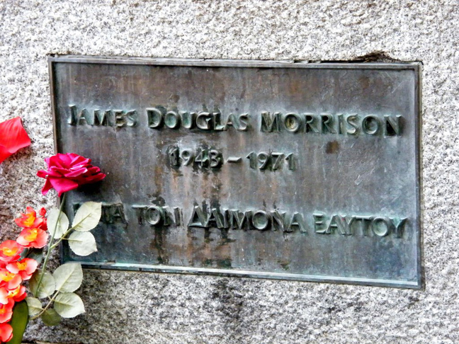 Ο τάφος του Μόρισον στο Παρίσι