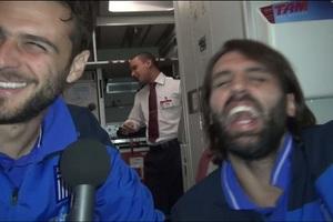 Τα αστεία στιγμιότυπα της Εθνικής