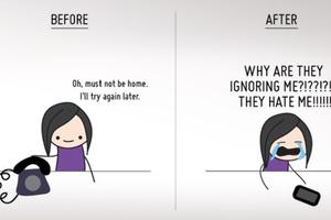 Η ζωή πριν και μετά τα κινητά