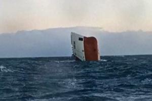 Άκαρπες οι έρευνες για τους ναυτικούς του πλοίου που ναυάγησε στη Σκωτία