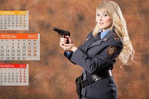 Λευκορωσίδες αστυνομικίνες σε σέξι ημερολόγιο